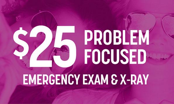 emergency exam offer