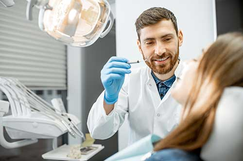 doctor provides family dentistry